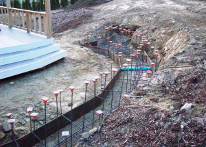 Concrete retaining walls for hillside properties, Whatcom County resized 600
