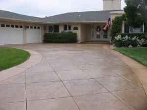 Concrete driveway installer, Bellingham WA