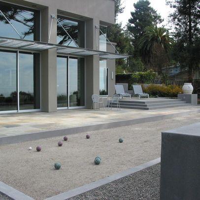 Concrete Bocce Court