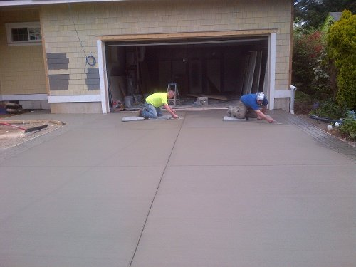 Replacing cracked driveways in bellingham custom concrete Base for concrete driveway
