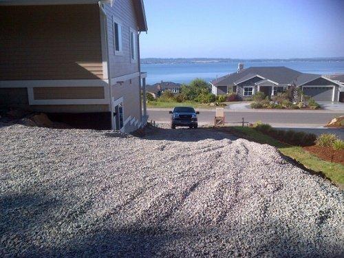 Installing a new pervious concrete driveway near a NW WA shoreline