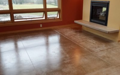 Project Feature: Heated concrete floors in Bellingham new construction