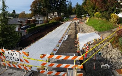 Feature Project: Huntington Street Pervious Concrete Installation
