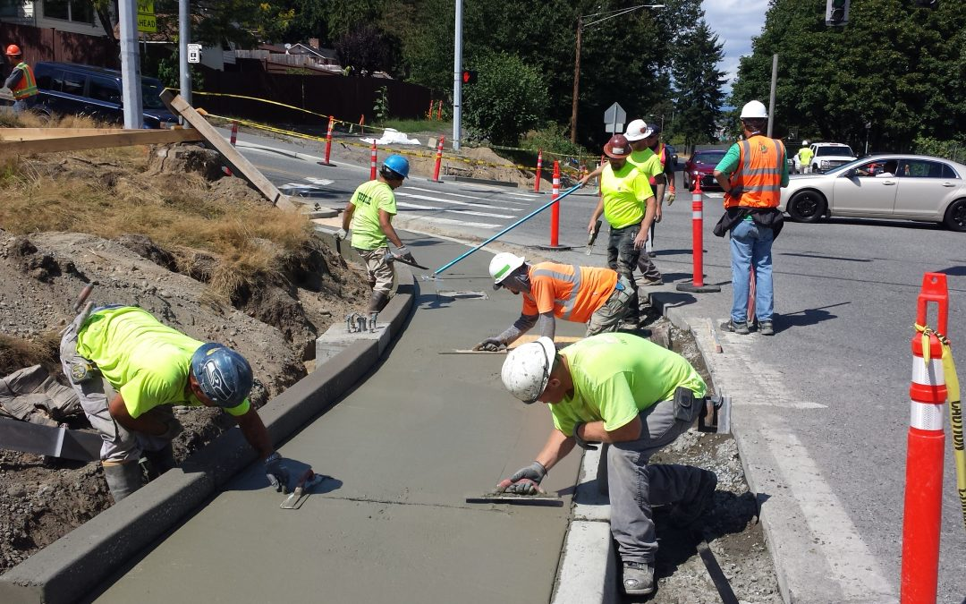 Custom Concrete is UDBE and MBE certified