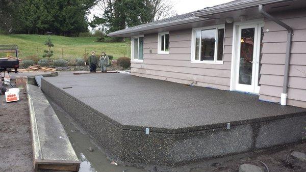 Superieur Aggregate Concrete Patio