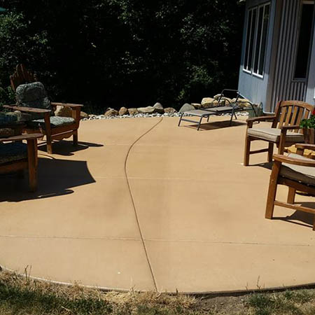Regular maintenance can keep concrete looking great for years