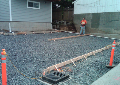Concrete project preparation