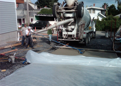 Our crews are pervious concrete installation pros