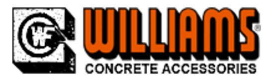 Williams Concrete Accessories