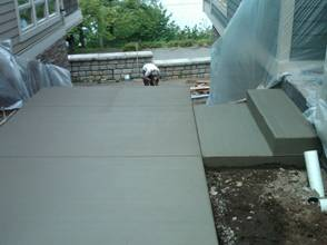 Custom Concrete Driveway Project