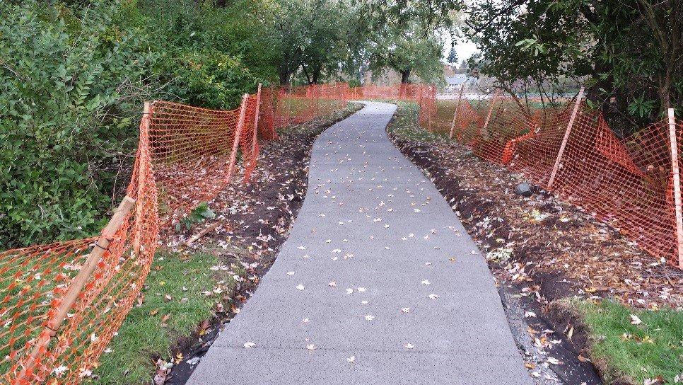 Pervious concrete excels in public spaces