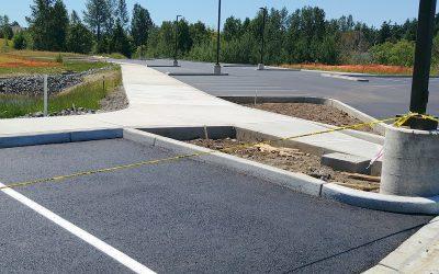 Project feature: Parking lot construction benefits Bellingham community health clinic