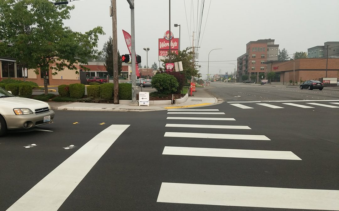 Custom Concrete helps beautify city, improve safety with Samish Way projects