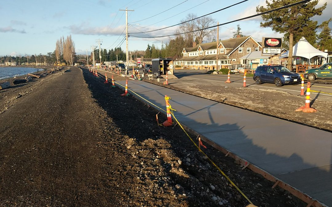 Project feature: Birch Bay Drive and Pedestrian Facility